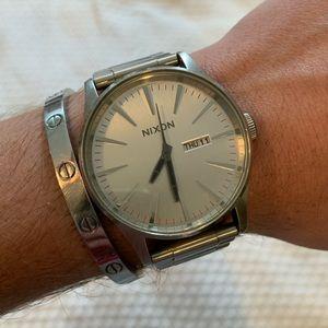 Silver Nixon Watch